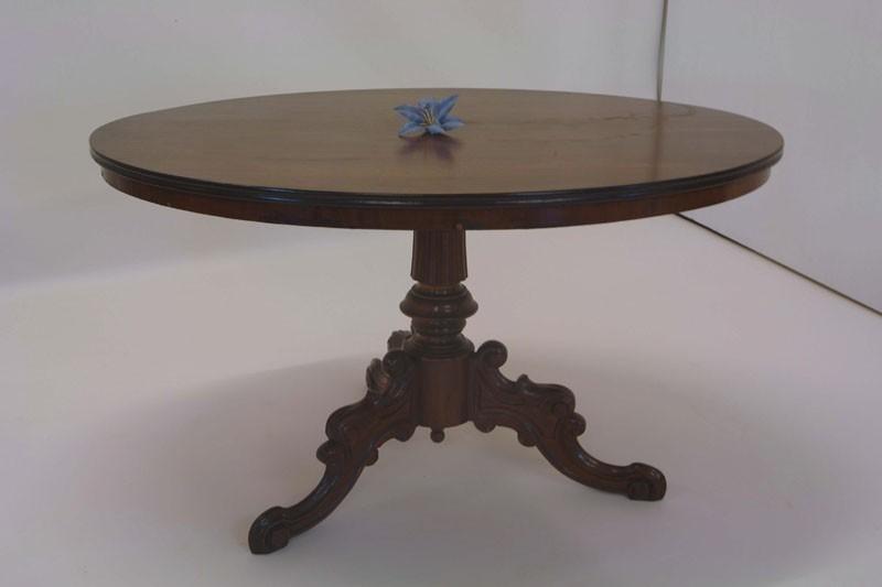 Esstisch nussbaum antik  Tisch Esstisch Nussbaum Louis Philippe 2. Zeit antik (664) | eBay