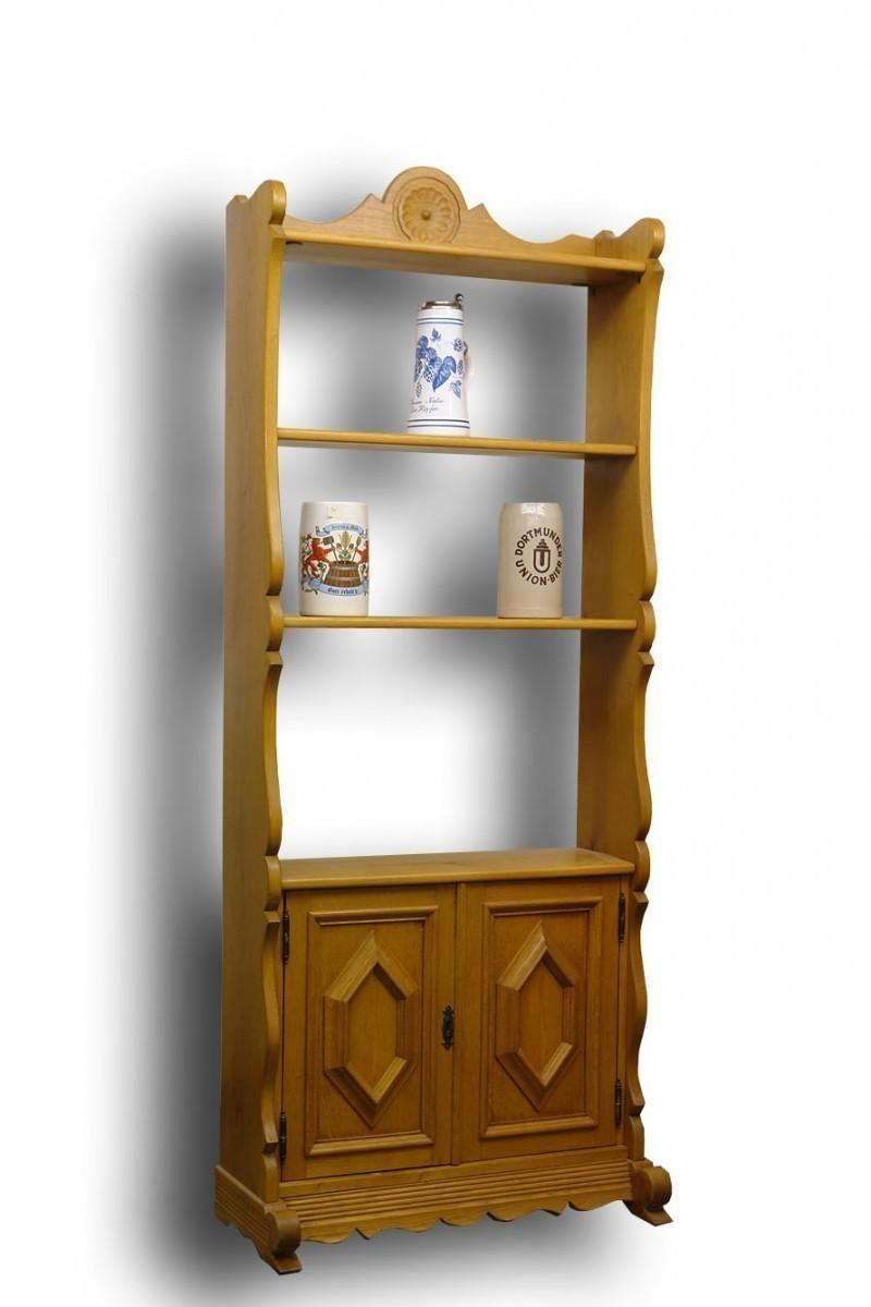 regal eiche massiv reproantik regale regalsysteme regale. Black Bedroom Furniture Sets. Home Design Ideas