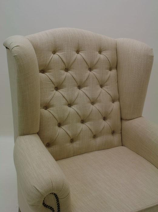Ohrensessel sessel mit textilbezug hoher sitzkomfort for Ohrensessel und sofa