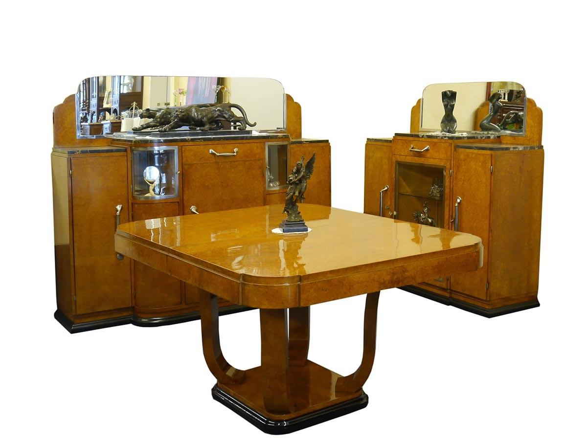 Art Deco Esszimmer Speisezimmer um 1930 original Französisch (2462)  eBay